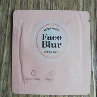 Etude house Face blur sampler