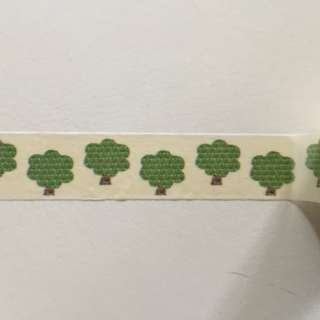 Patterned Tree GJ130 Washi Tape 15mm x 10m