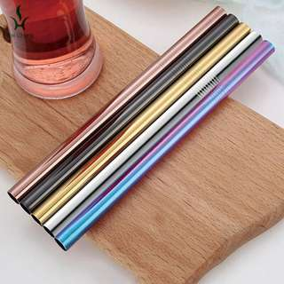 Reusable Metal Stainless Steel Eco friendly straws
