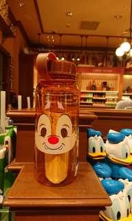 香港迪士尼Chip & Dale水樽