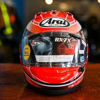 Helmet Arai RX-7X Nakagami