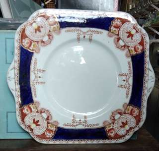 Royale Vale China Longton-square plate