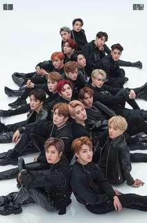 Official Poster NCT Black on Black (Empathy)