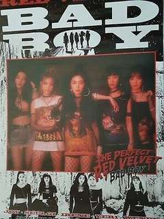 Official Poster Red Velvet Bad Boy (The Perfect Red Velvet)
