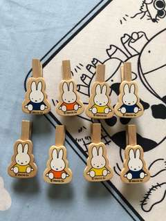 Miffy - Wooden pegs