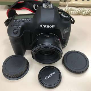 CanonEOS 5D Mark III 類單眼數位相機  EF50 F1.8 ll