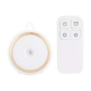 Rechargeable Remote Control LED Night Lamp