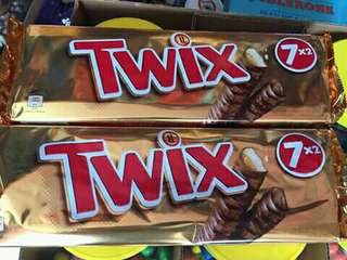 Twix Pack of 7