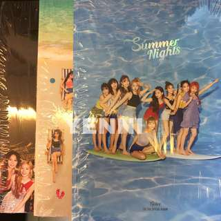 TWICE Summer Night Dance the Night Away Official Album