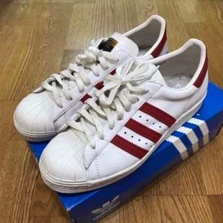 🚚 US10 二手鞋 adidas originals SUPERSTAR 80's