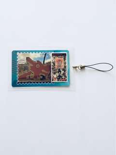 Handcrafted Stamp Artwork Accessory