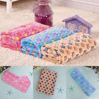 Soft blanket bed mat for Dog/cat