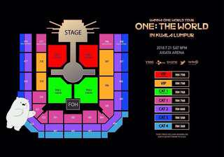 [WTT/WTS] Wanna One, One: The World Concert Tickets