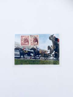 Horses Stamps Artwork