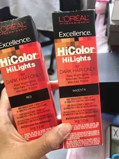 Loreal Hicolor Highlights