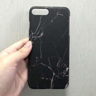 [ INSTOCK ] black marble phone casing