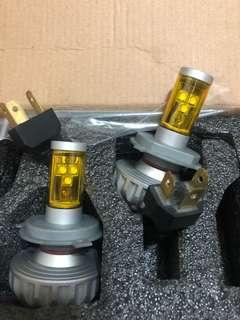 🚚 LED大燈 H4