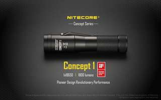 Nitecore Concept 1 特強 電筒 1800 Lumens