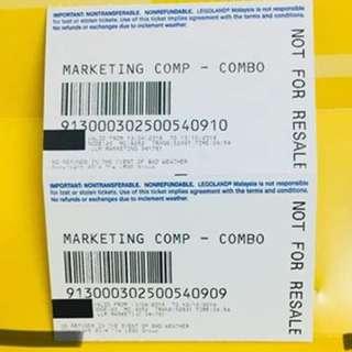 Ticket to Legoland Malaysia (Theme Park + Water Park)