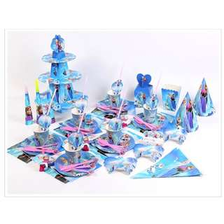 🚚 Frozen / Elsa / Anna Party Supplies / Party Decorations / Theme Party Setup