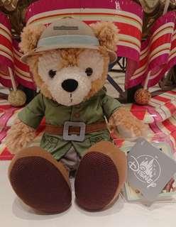 香港迪士尼Duffy冒險造型毛公仔