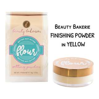 PRELOVED (Used Twice) BEAUTY BAKERIE Flour Finishing Powder 14g (Yellow)