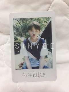 [WTT] Seventeen Love&Letter repackaged Woozi Polaroid