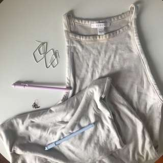 Kookai Ribbed dress long
