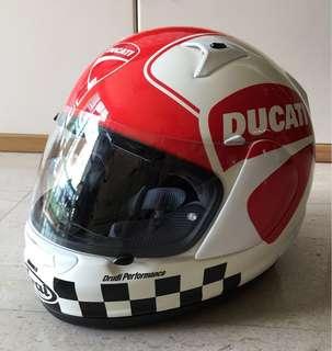 Quantum ST Full Face Helmet (Ducati decal) by Arai