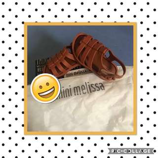 Authentic Mini melissa sandals