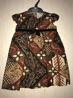 Batik Baby Dress