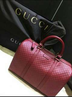 bag gucci red new authentic