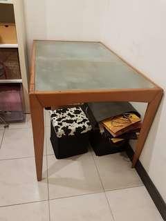 玻璃長桌/餐桌