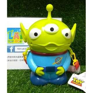 日本 迪士尼 三眼怪 爆米花筒 存錢筒 日貨 disney 玩具總動員 三眼仔 爆米花桶 存錢桶 全新 現貨 正版 可愛