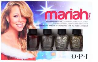 OPI Mariah Carey Holiday mini set of 4