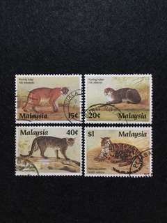 1987 Protected Wildlife (3rd Series) 4V Used Set