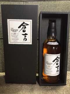 日本威士忌 倉吉 Kurayoshi 25年 有盒 響 山崎 白州 余市 竹鶴