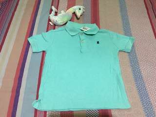 Baby boy poloshirt size 3T. Preloved or US Bale, with tag.