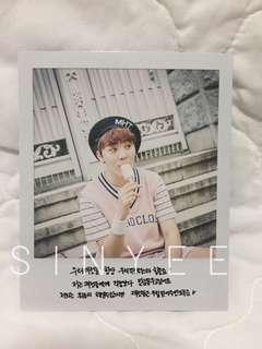 [WTT] Seventeen Love&Letter repackaged Seungkwan Polaroid (Large)