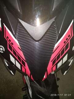 Carbon fiber wraps on your ride..