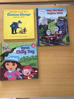 Curious George / Dora's Chilling Day / Thomas & Friends