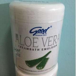 🚚 Free REG Mail - Good Creambath Emulsion - Aloe Vera (3 in 1 + Vitamin)