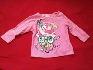 Long sleeves top for baby