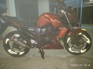 Thank you for your support.. FZ16.. Rim decal..