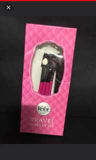 BNIB Veet travel make up set