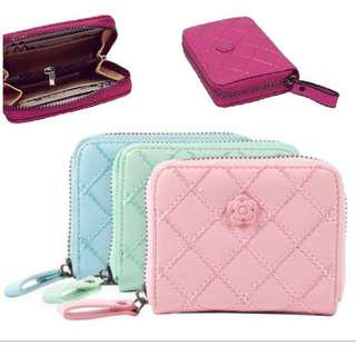 ❤️ Women Purse Quilted Rose Wallet Premium #subangjayaswap #ssv8