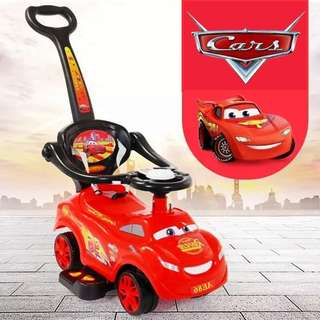 Disney Cars Mcqueen Children Kids Toddler Ride On Car Tolocar