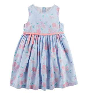🚚 BN Oshkosh Bgosh Baby Girl Floral Summer Dress With Diaper Cover! 12mths-3T available!