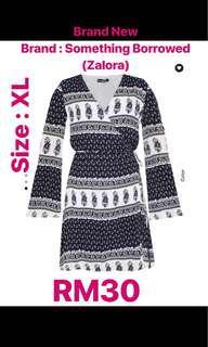 Knee Length Dress : ZALORA