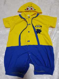 Minion costume/ onesie